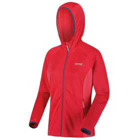Regatta Helio Softshell Jas Dames, red sky